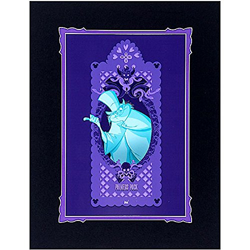 Disney Haunted Mansion Print - Ghost Phineas Pock By Francisco Herrera Wonderground -