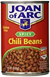 chili brick - Joan of Arc Beans, Spicy Chili, 15 Ounce (Pack of 12)