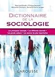 """Afficher """"Dictionnaire de la sociologie"""""""