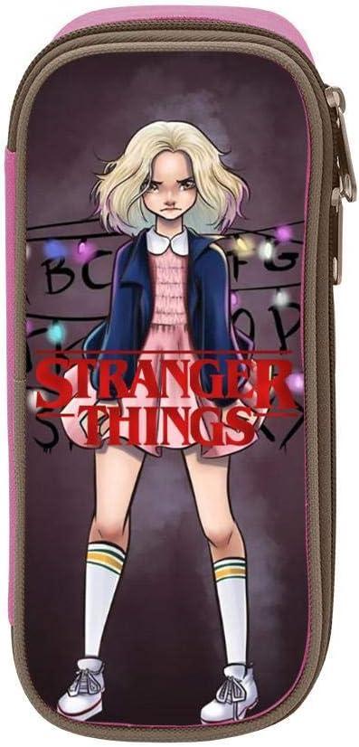 GSGSDG Stranger Things - Estuche para lápices de gran capacidad, multifunción, para la escuela y la oficina: Amazon.es: Oficina y papelería