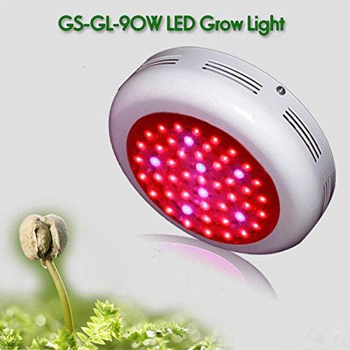 Bluelover FC UFO 90W LED-wachsende Licht Indoor Gewächshaus Pflanzen Gemüse Lampen