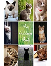 My Address Book: Cat Cover   Address Book for Names, Addresses, Phone Numbers, E-mails and Birthdays