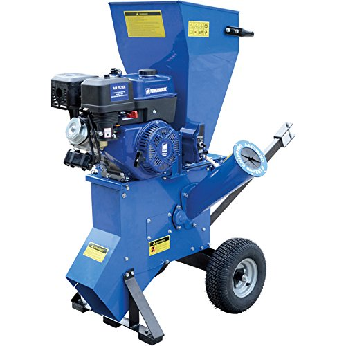 Powerhorse Chipper/Shredder - 420cc Powerhorse OHV Engine, 4in. Capacity