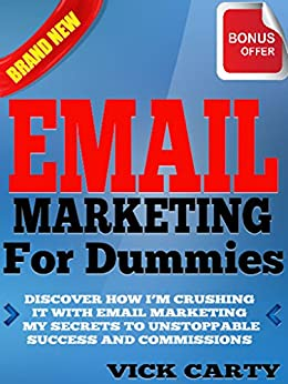 Email Marketing Dummies Unstoppable Commissions ebook product image