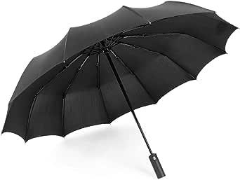 Automatic folding umbrella for rain and sun
