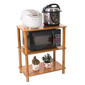 Bjia Repisa de cocina Estante para horno de microondas de 3/4 ...