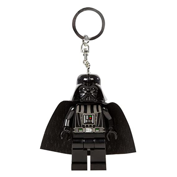 LEGO Star Wars - Llavero con Linterna, diseño de Darth Vader