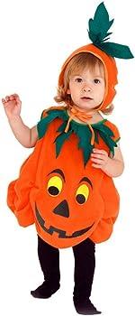 Pueri Disfraz de Calabaza de Halloween Traje para Bebé Niños de ...