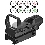 Susan-star Red and Green Reflex Sight Dot with 4 Reticles 20mm Rail (One) For Sale