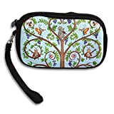 CMTRFJ Unisex Wallet for Woman Ladies -Animal's Family of Tree Purse Bag Men Gentlemen
