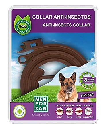 Collar Anti-Insectos con Margosa 60 cm - Para Perros - Menforsan