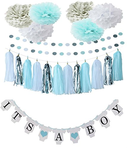 Baby Shower Party Decorations For Boy Girl Easy To Create (Onesie ()