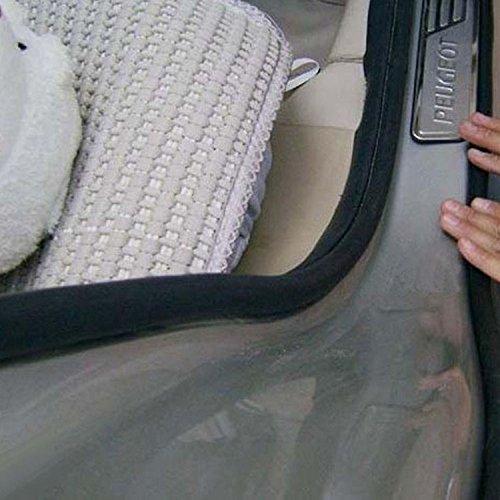 160 4M 14mm*12mm Big D-shape Car Truck Motor Door Rubber Seal Strip Weatherstrip Seals Hollow