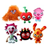 Moshi Monsters - Large Plush Collection - (Katsuma, Zommer, Furi, Luvli, Poppet, Diavlo)