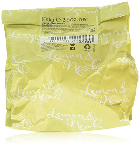 Bronnley Soap Lemon - Bronnley England Lemon and Neroli Women's Soap, 3.5 Ounce