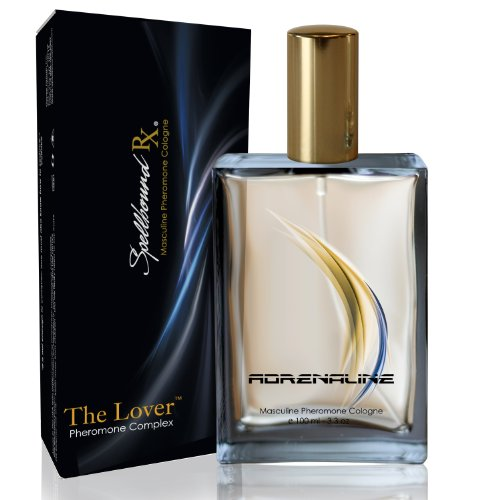 'THE LOVER' Masculine Pheromone Cologne with the 'ADRENALINE' Fragrance From SpellboundRX - The Intelligent Pheromone Choice