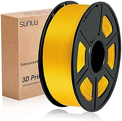Filamento PLA Plus de la impresora 3D SUNLU, filamento PLA de 1.75 mm, filamento de impresión 3D de bajo olor, precisión dimensional +/- 0.02 mm, 2.2 ...