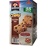 Quaker Chewy Chocolate Chip Bars- Club Size 48 Bars
