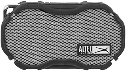Altec Lansing IMW269 Baby Boom Rugged Waterproof Mini Bluetooth Speaker Graphite Grey