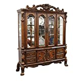 BOWERY HILL Hutch and Buffet in Cherry Oak