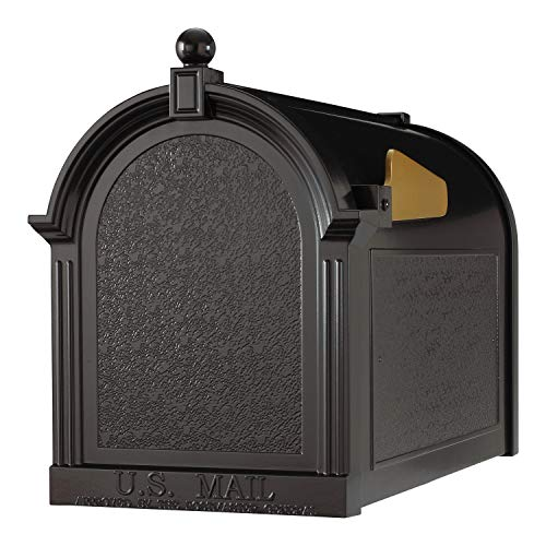 (Whitehall Products Capital Mailbox, Black)