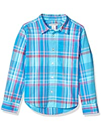 Boys' Long-Sleeve Poplin/Chambray Shirt