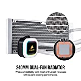 Corsair Hydro Series, H100i RGB Platinum SE, 240mm