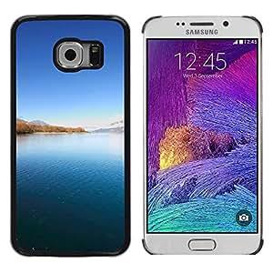 Be Good Phone Accessory // Dura Cáscara cubierta Protectora Caso Carcasa Funda de Protección para Samsung Galaxy S6 EDGE SM-G925 // Nature Beautiful Forrest Green 91