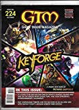 #3: GTM Game Trade Magazine #224 Keyforge Sealed w/Promo Cards (2018) - New!