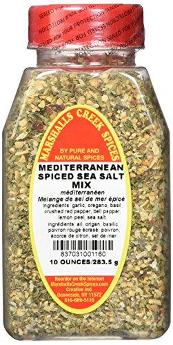 Marshalls Creek Spices Mediterranean Spiced Sea Salt Mix, 10 ()