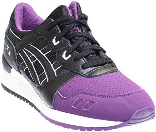 Cheap ASICS GEL Lyte III Retro Running Shoe, Purple/Black, 8.5 B(M) US
