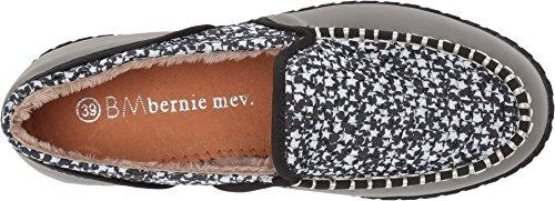 Bernie Mev Womens Stitched Fuzzy Grey Stars 9MZvaubTt3