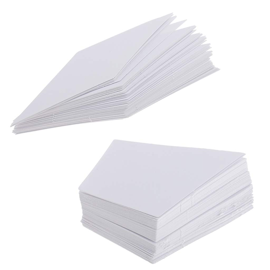 Baoblaze 200 Pieces Rhombus /& Diamond Shape Paper Quilting Templates for Sewing Crafts