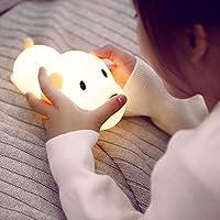 Zehui–acariciarle lámpara USB recargable luz de noche casa decoración de la oficina, de dibujos animados Perro Forma