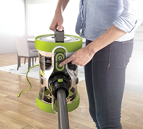 HOOVER Air Revolve Multi Position Bagless Corded Canister Vacuum - button