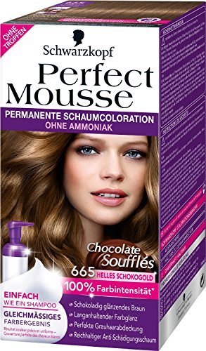 Perfect Mousse 665 Helles Schokogold Chocolate Soufflés, 3er Pack (3 x 93 ml)