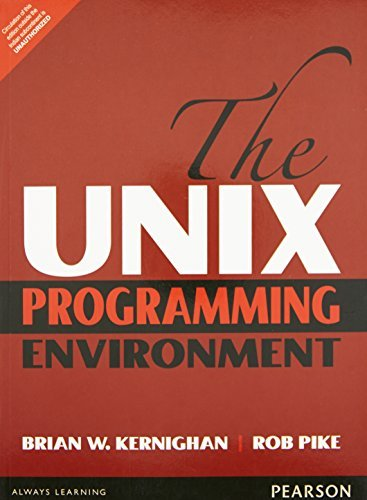 The UNIX Programming Environment by Kernighan & Pike (2015-12-25) by Pearson India