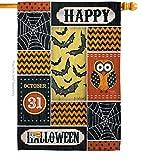 "Halloween Happy Large Flag 28""x 40"""