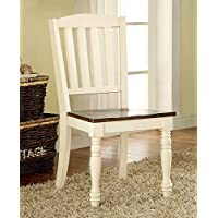 247SHOPATHOME IDF-3216SC Dining-Chairs, White
