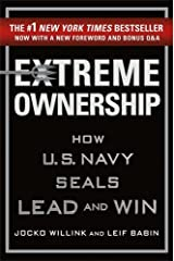 Extreme Ownership: How U.S. Navy SEALs Lead and Win (New Edition) Hardcover