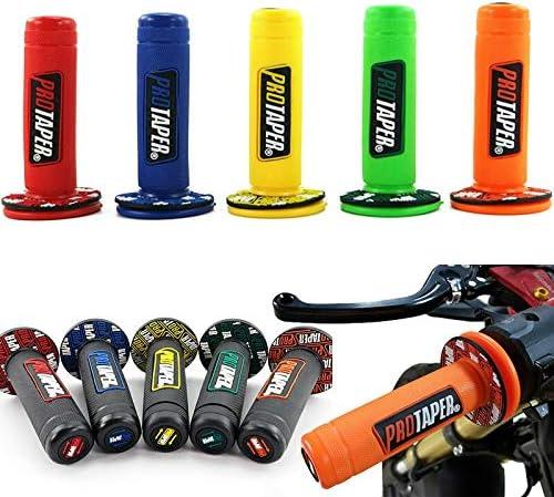 Tdz 22mm 24mm Universal-Motorrad-Lenker Teil Motorrad Lenker for Protaper Yamaha KTM Motocross Moto Grip Pit Bike Color : Black Orange