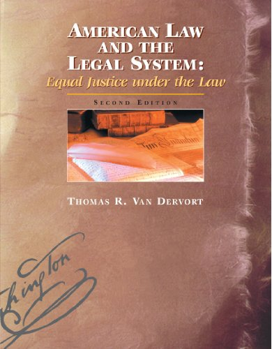 American Law and the Legal System:: Equal Justice under the Law