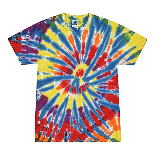 Colortone Tie Dye T-Shirt LG Kaleidoscope for $<!--$17.49-->
