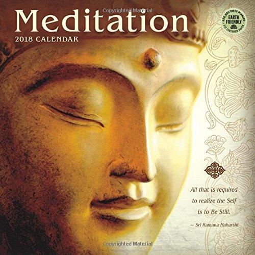 Meditation 2018 Wall Calendar