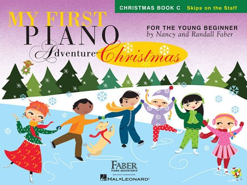 - My First Piano Adventure  Christmas - Book C: Skips on the Staff