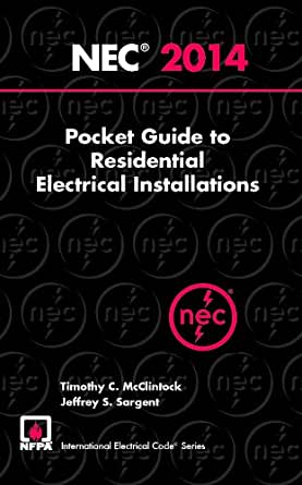 nec residential wiring code 2014 nec® pocket guide to residential electrical ...