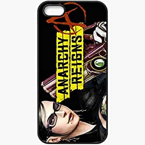 Personalized iPhone 5 5S Cell phone Case/Cover Skin Anarchy Reigns Black by lolosakes