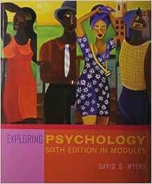 Exploring Psychology Myers