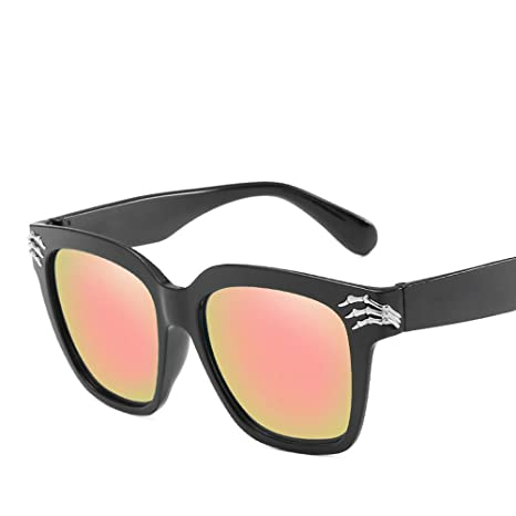 BiuTeFang Gafas de Sol Mujer Hombre Polarizadas Alrededor de ...