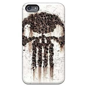 iphone 6 Fashion phone cases High Grade Hybrid punisher bulletholes